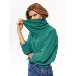 Top Secret Mikina dámská zelená se stojáčkem