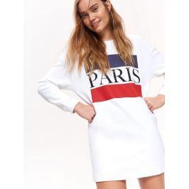 Top Secret Mikina dámská bílá PARIS