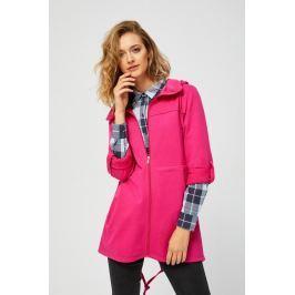 Moodo Mikina dámská na zip s kapucí