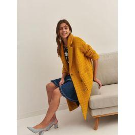 Top Secret Kabát dámský žlutý OVERSIZE