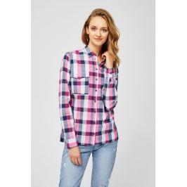 Moodo Košile dámská kostkovaná