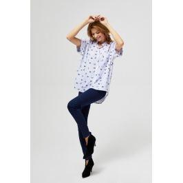 Moodo Košile dámská vzorovaná s krátkým rukávem