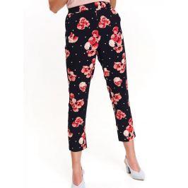 Top Secret Kalhoty dámské květinové