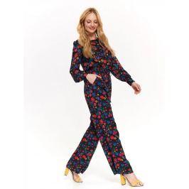 Top Secret Kalhoty dámské květinové 2