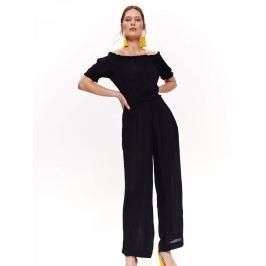 Top Secret Overal dámský LEILA dlouhý elegantní s odhalenými rameny