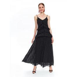 Top Secret Šaty dámské KILASA s puntíky v délce MAXI