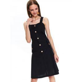 Top Secret Šaty dámské REWY bez rukávu s knoflíky