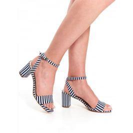 Top Secret Sandály dámské OMEGAS pruhované