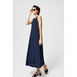 Moodo šaty dámské DALI dlouhé s tečkami