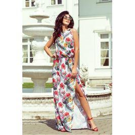 Numoco šaty dámské ELIANKA VI bez rukávu v délce maxi