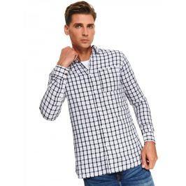 Top Secret Košile pánská HELAS slim fit s dlouhým rukávem