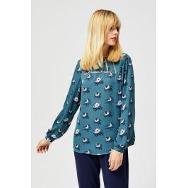 Moodo Košile dámská UGYLA se vzorem bez zapínání