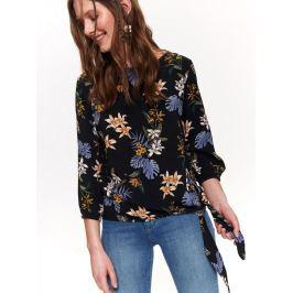 Top Secret Halenka dámská květinová 2 se zavazováním