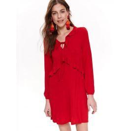 Top Secret Šaty dámské červené