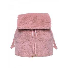 Top Secret Batoh dámský plyšový v růžové barvě