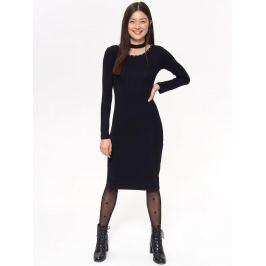 Top Secret Šaty dámské černé ONE SIZE