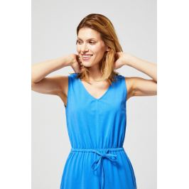 Moodo šaty dámské BLUE bez rukávu