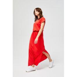 Moodo šaty dámské GOVY s krátkým rukávem MAXI