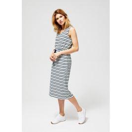 Moodo šaty dámské TALLI dlouhé s proužkem