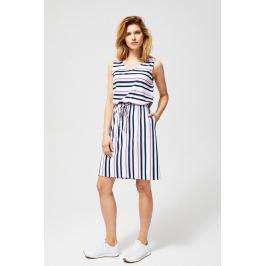 Moodo šaty dámské ALIS s proužkem
