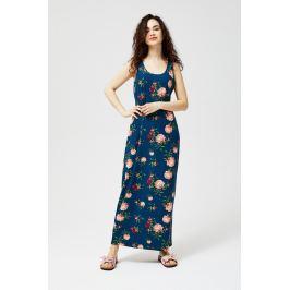Moodo šaty dámské FLERIKA bez rukávu květované maxi