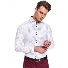 Top Secret Košile pánská STEEL s dlouhým rukávem