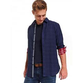 Top Secret Košile pánská TREY s dlouhým rukávem