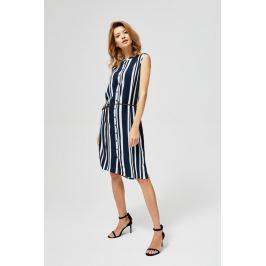 Moodo šaty dámské TEES s proužkem