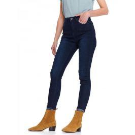 Top Secret Jeansy HOLU dámské skinny s vysokým pasem