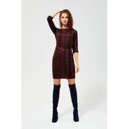 Moodo šaty dámské GROOX s 3/4 rukávem