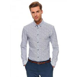 Top Secret Košile pánská VYX II s dlouhým rukávem slim fit