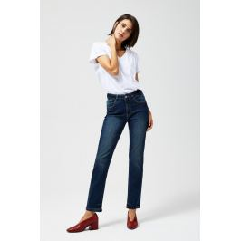 Moodo Jeansy dámské STRAIGHT LEG