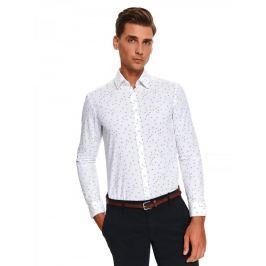 Top Secret Košile pánská STYLO II shaped fit s dlouhým rukávem