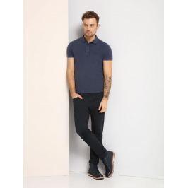 Top Secret Triko pánské s límečkem tmavě modré krátký rukáv