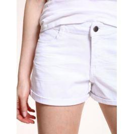 Top Secret Šortky dámské bílé jeans