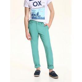 Top Secret Kalhoty pánské bavlněné zelené