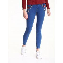 Top Secret Jeansy dámské s výšivkou poslední kus