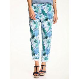 Top Secret Kalhoty dámské květované na gumu