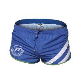 Pánské šortkové plavky TQQT - modrá Barva: Modrá, Velikost: XXL, Velikost dle značky: (86-98cm)