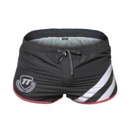 Pánské šortkové plavky TQQT - Titan Barva: Šedá, Velikost: M
