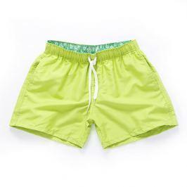 PLAVKY 3+1 ZDARMA Víceúčelové pánské šortkové plavky v 17 barvách! - Fluorescent Yellow Barva: Fluorescent Yellow, Velikost: XL, Velikost dle značky: (91-96cm)