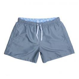 PLAVKY 3+1 ZDARMA Víceúčelové pánské šortkové plavky v 17 barvách! Barva: Gray/Šedá, Velikost: XXL, Velikost dle značky: (96-101cm)
