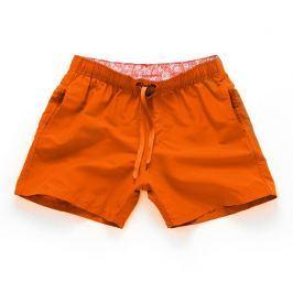 PLAVKY 3+1 ZDARMA Víceúčelové pánské šortkové plavky v 17 barvách! - Orange/Oranžová Barva: Oranžová, Velikost: XL