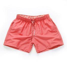 PLAVKY 3+1 ZDARMA Víceúčelové pánské šortkové plavky v 17 barvách! - Pink/Růžová Barva: Růžová, Velikost: XL