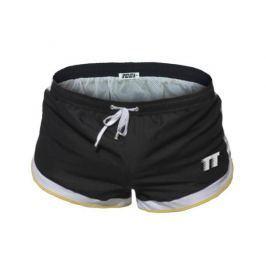 Pánské boxerkové plavky TQQT - Tyre Black Barva: Černá, Velikost: L