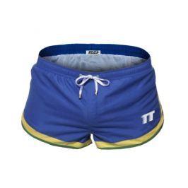Pánské boxerkové plavky TQQT - Azur Blue Barva: Modrá, Velikost: M