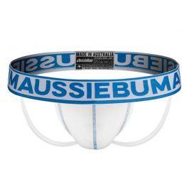AussieBum SKLADEM ★ Pánské Jockstrap AussieBum FlashR Jock Blue Barva: Jock Blue, Velikost: XL, Velikost dle značky: Pro obvod pasu (90-95cm)