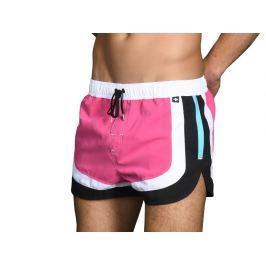 Andrew Christian šortkové plavky CHAMPION Swim Shorts Barva: Růžová, Velikost: M