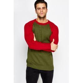 Pánský svetr XSIDE - zelená Barva: Zelená, Velikost: M
