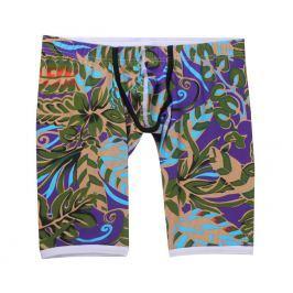 WangJiang Sexy prodloužené boxerky se sníženým LOW RISE pasem - Exotik Velikost: M, Velikost dle značky: (Pas 79-84cm) Délka 39cm